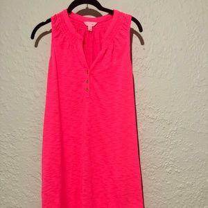 Lilly Pulitzer Pink Essie Dress (xs)